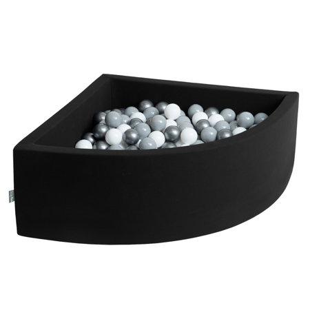 KiddyMoon Bällebad Bällepool mit Bällen ∅ 7Cm für Babys ...